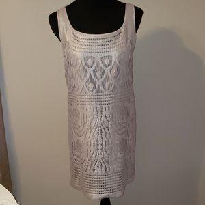 Lilly Pulitzer Arlington Metallic Deco Lace Dress